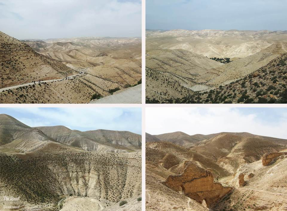 Images of the desert at Wadi Qelt