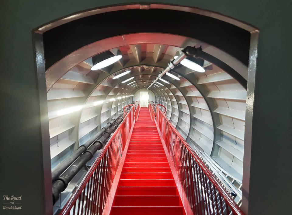 One of the Atomium's space age tubes