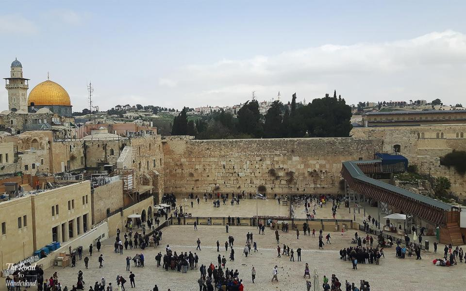 Religious sites in Jerusalem: Western Wall