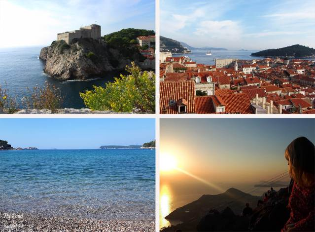 2018 Travel Review: Dubrovnik, Croatia – Fort Lovrijenac, Durbovnik Old Town, sunset at Srd Hill, Beach on the Lapad Peninsula