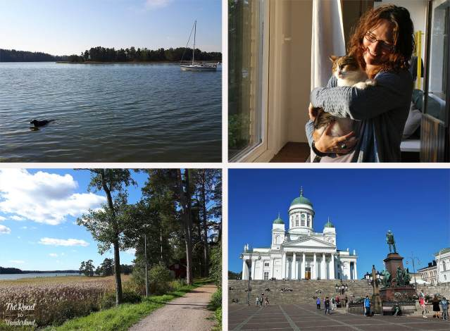 2018 Travel Review: Espoo & Helsinki, Finland – Oscar swimming, me cuddling Lucy, Helsinki Cathedral and my Espoo walk