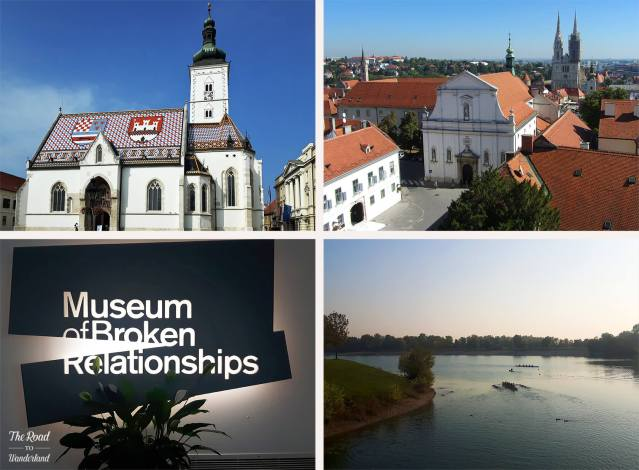 2018 Travel Review: Zagreb, Croatia – St Mark's Church, view of St Catherine's Church and Zagreb Cathedral; Jarun Lake and the Museum of Broken Relationships