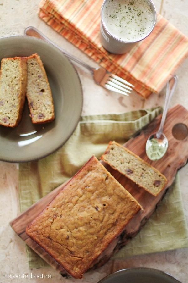 Gluten-Free & Naturally Sweetened Banana Bread