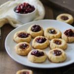 Cardamom Almond Flour Paleo Thumbprint Cookies | TheRoastedRoot.net #healthy #dessert #recipe #glutenfree #paleo #vegan