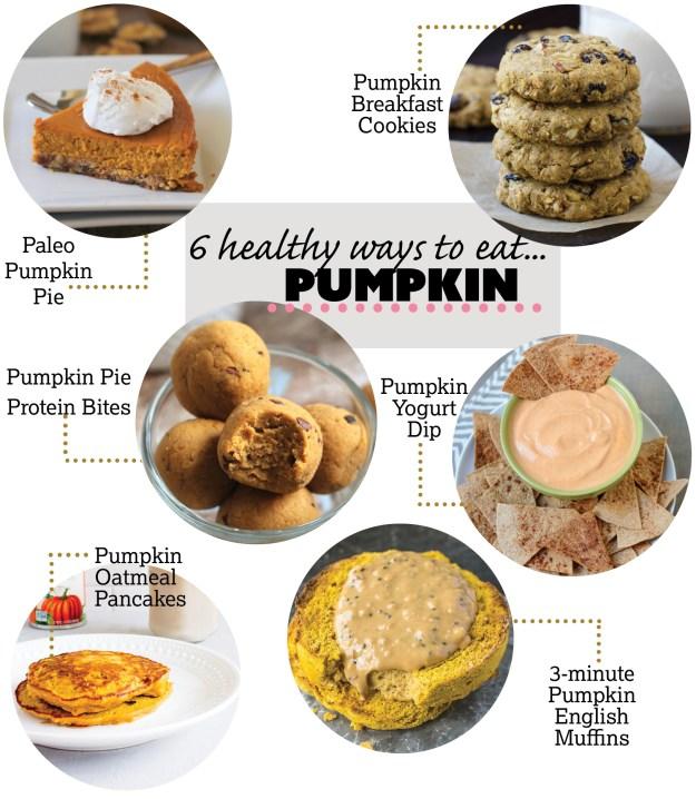 6 Healthy Pumpkin Recipes