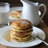 Basic Fluffy Coconut Flour Pancakes