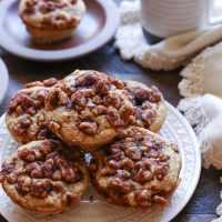 Grain-Free Banana Walnut Muffins (Paleo)