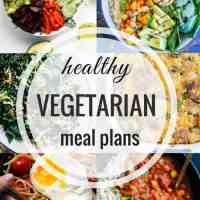 Healthy Vegetarian Meal Plan 05.20.2018