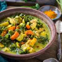 Immunity-Boosting Turmeric Chicken Soup