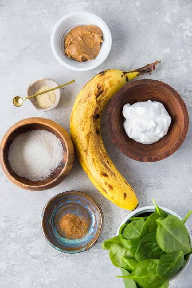 Adaptogenic Protein Smoothie Ingredients