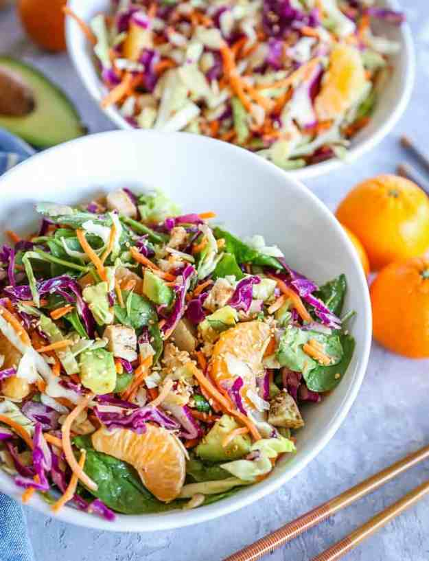Paleo Chinese Chicken Salad - soy-free, refined sugar-free, nutritious and filling | TheRoastedRoot.net