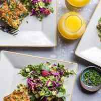 Zucchini Herb Sausage Breakfast Casserole