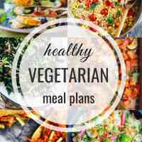 Healthy Vegetarian Meal Plan 06.23.2019