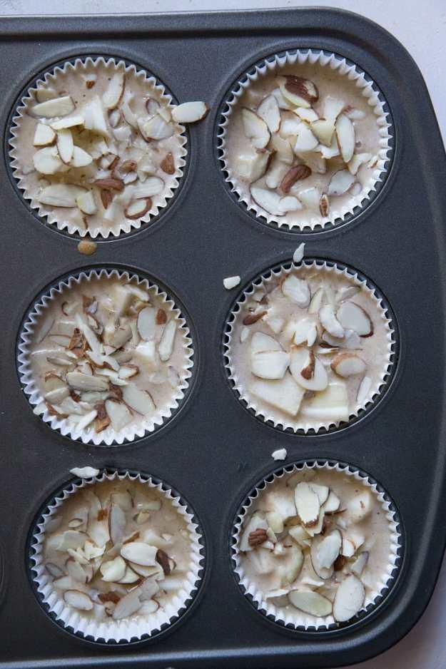 Apple Cinnamon Coconut Flour Muffins