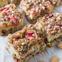 Paleo Strawberry Coffee Cake