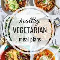 Healthy Vegetarian Meal Plan 01.19.2020