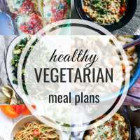 Healthy Vegetarian Meal Plan 02.23.2020