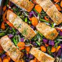 One Pan Meal: Salmon and Vegetables