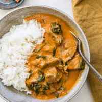 Instant Pot Indian Lamb Curry