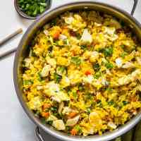 Turmeric Chicken Fried Rice