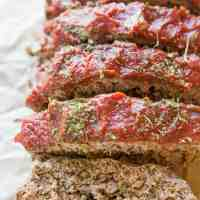 Paleo Meatloaf Recipe (with a Keto Option)