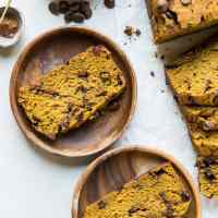 Gluten-Free Chocolate Chip Pumpkin Bread