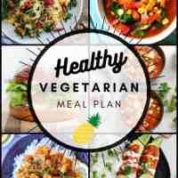 Vegetarian Meal Plan 09.20.2020