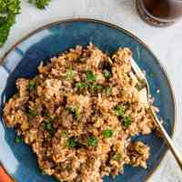 Instant Pot Hamburger Helper With Rice (Dairy-Free)
