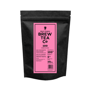 Brew Tea Co FRUIT PUNCH PROPER TEA BAGS
