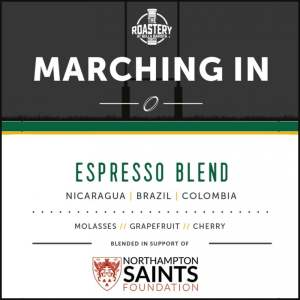 Saints Marching In Espresso Blend - Fresh Roast Coffee