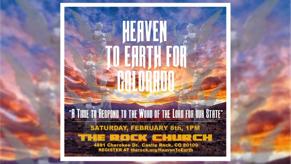 Heaven To Earth For Colorado 2/8 at 1pm