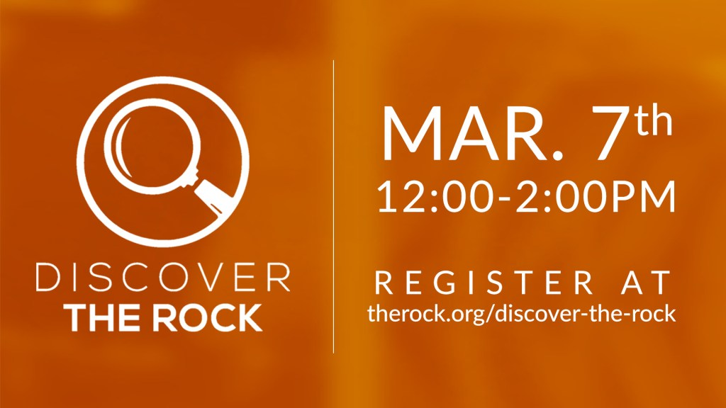 Discover The Rock on March 7th