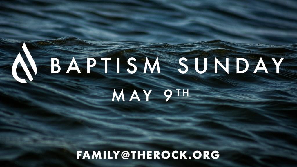 Baptisms May 9