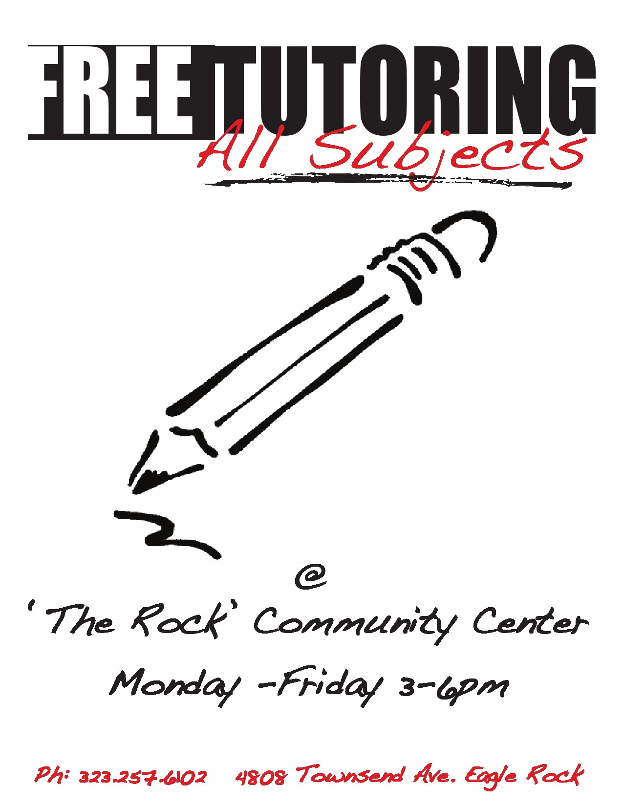 Tutoring Program » The ROCK Community