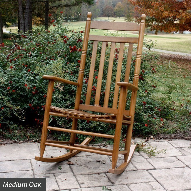 wood rocking chair styles covers surrey country style slat back wooden the company more views