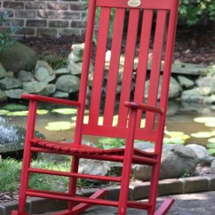 Cushions For Rocking Chair Restaurant Dining Chairs Barn Door Red Bob Timberlake Cottage Rocker - The Company