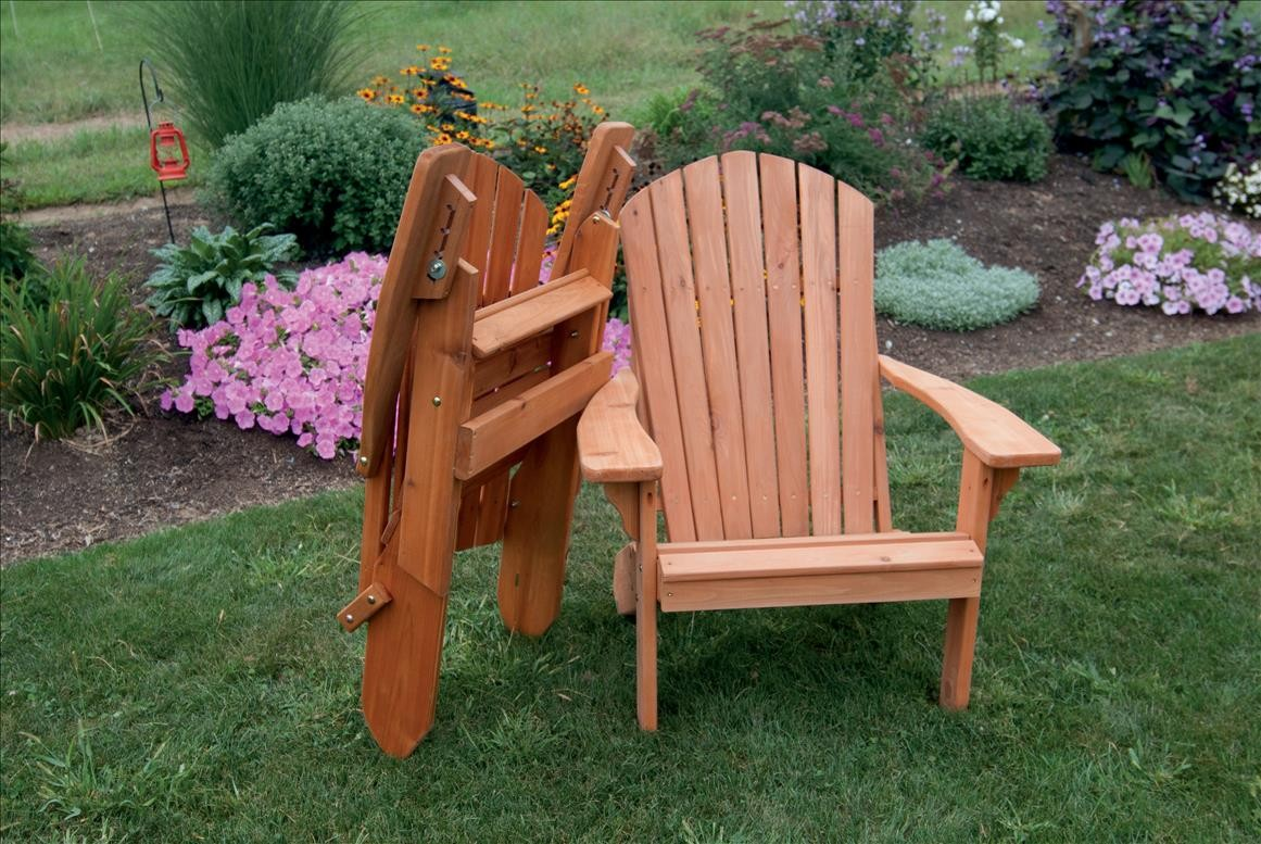 adirondack chair pattern stool homemade hand crafted outdoor folding of cedar
