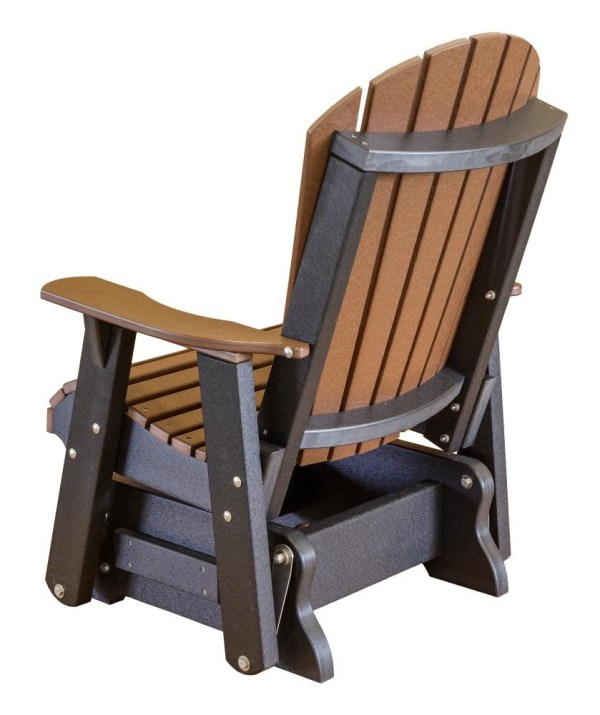 Heritage Single Outdoor Glider - Rocking Chair Company