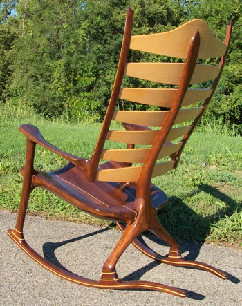 handmade rocking chairs quantum swivel chair the man your authority for custom rockers hand made