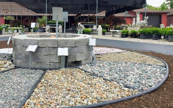 gravel mulch - rock pile