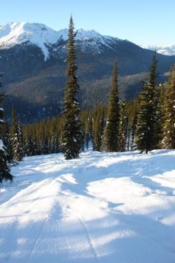 crystal ridge ski board sled valemount bc alpine winter