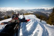 crystal ridge ski board sled valemount bc alpine winter snowmobile