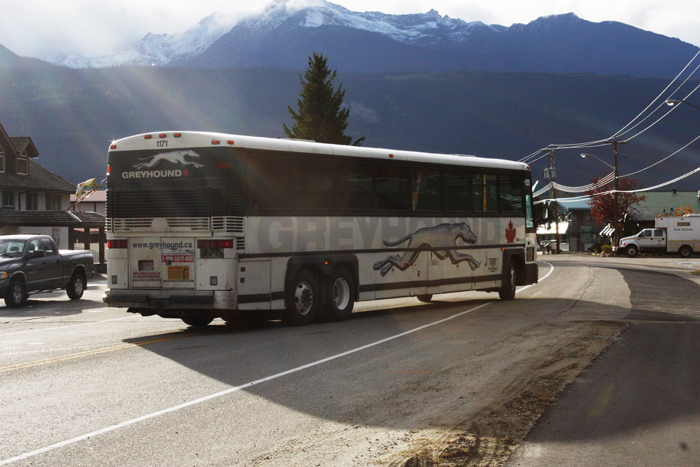 Greyhound applies to reduce buses to Valemount – The Rocky