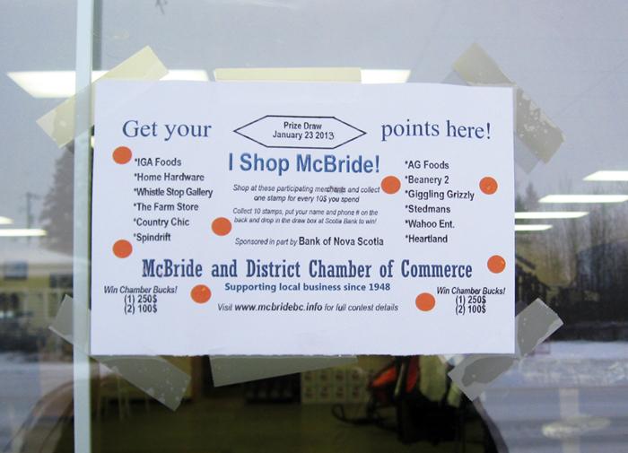 """McBride's """"shop local"""" campaign goes big"""