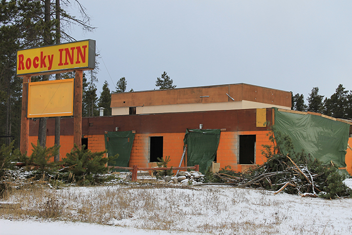 Permits approved for new restaurant at Rocky Inn