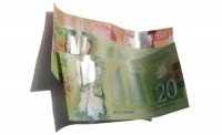 money, canadian money, bills