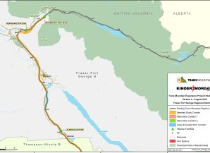 Kinder Morgan, pipeline map, pipeline expansion