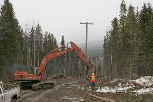 Run-of-river to help power McBride by 2015
