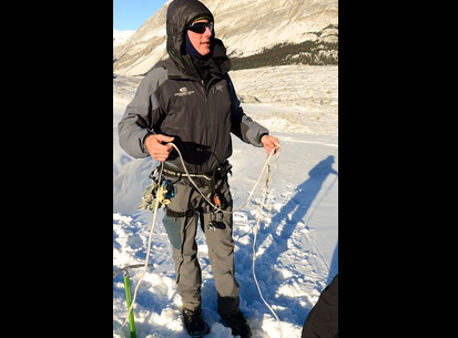 McBride local scales the heights in Jasper