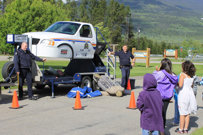 Educational, scary fun at RCMP's Open House